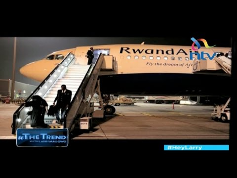 Aboard RwandAir's new Airbus 330, East Africa's first plane with wifi