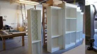 Custom Built Entertainment Center Tommy Bahama Style.flv