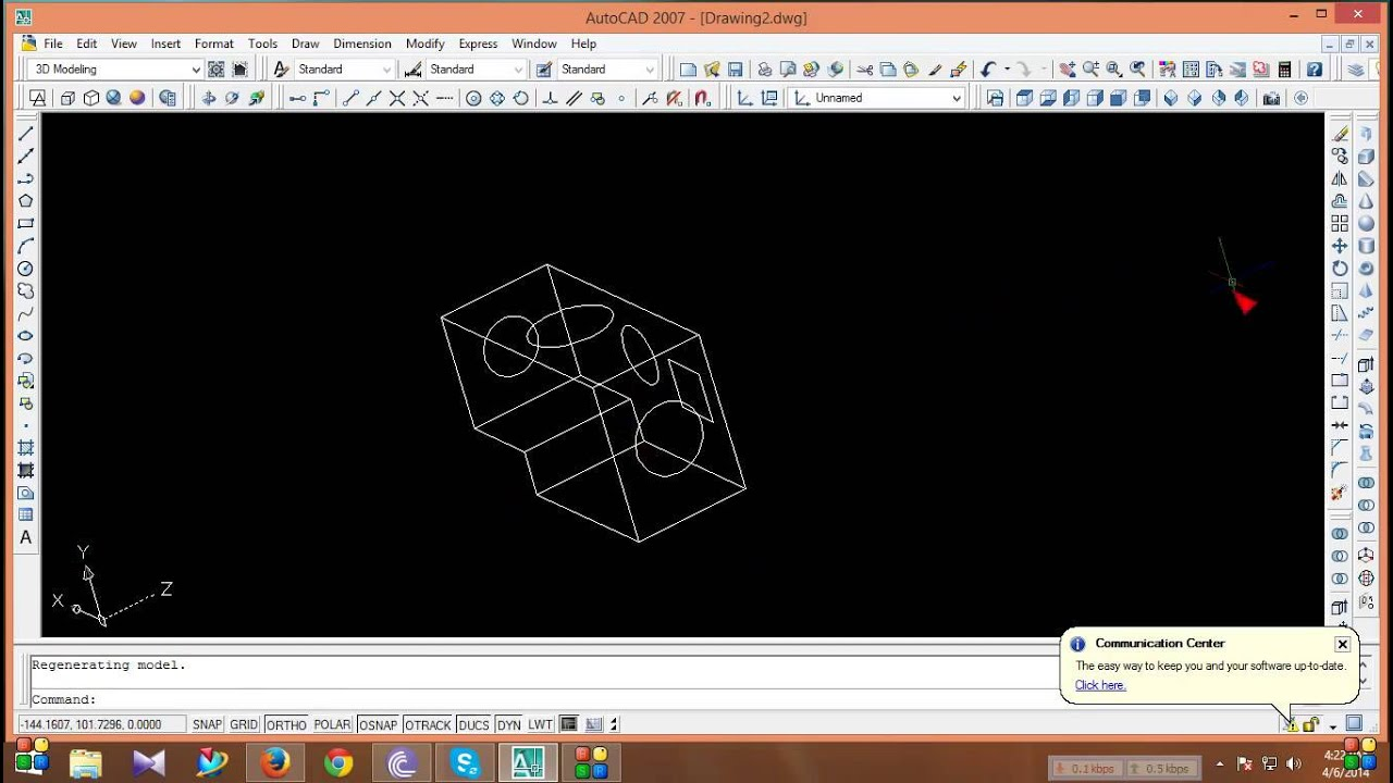 autocad mechanical easy way basic tutorial for beginners part 1 by rh youtube com AutoCAD 2016 Logo 2014 AutoCAD Instruction Manual