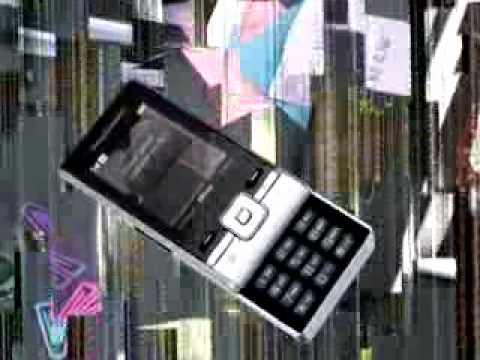 Sony Ericsson T715 Cell Phone demo