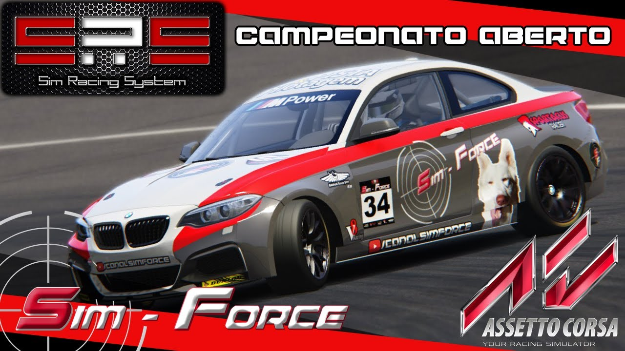 teste assetto corsa sim racing system youtube. Black Bedroom Furniture Sets. Home Design Ideas
