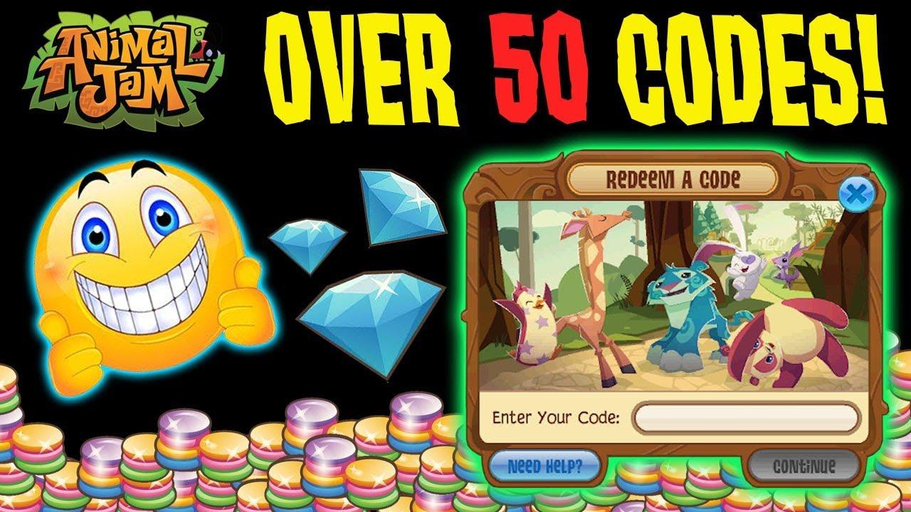 animal jam how to get free diamond codes