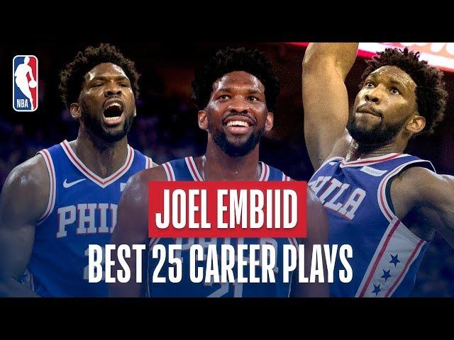 Joel Embiids Best 25 Career Plays!