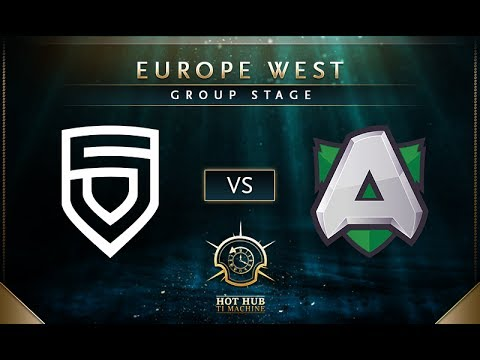 Penta vs Alliance - TI7: EU Regional Qualifiers Group Stage - @TobiWan @tsunami