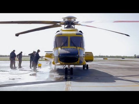Lift Off: BP Offshore Employees' Helicopter Commute