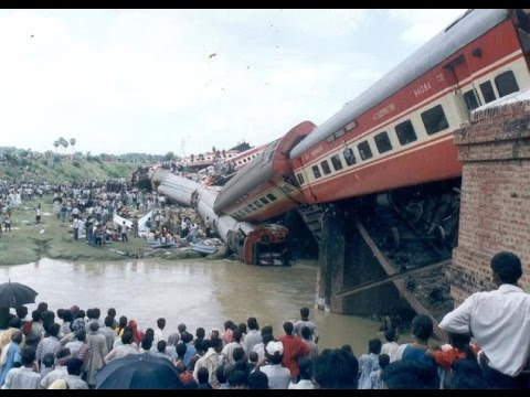Thumbnail: Top 10 India's Worst Train Accidents.
