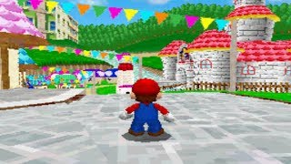 Incredible Super Mario 64 DS Rom Hack - Super Mario The New Beginning BETA