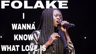 The Fabsisters - FOLAKE Solo - I Want To Know What Love Is (Cover of Foreigner, Mariah Carey)