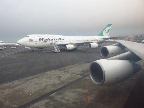 Mahan Air 747-3B3(SCD) - Flight from Tehran Mehrabad Int'l (THR) to Bandar Abbas Int'l (BND), Iran