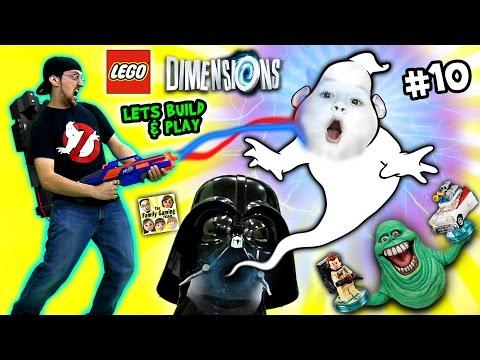 Consente di costruire e giocare Lego Dimensioni # 10: Duddy intrappola Slimer!