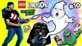 Lets Build & Play LEGO Dimensions #10: Duddy Traps Slimer! Ghost Busters Fun w/ Ecto-1 thumbnail