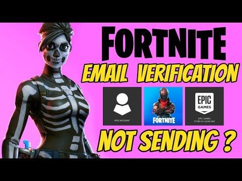 Fortnite Email Verification Not Sending