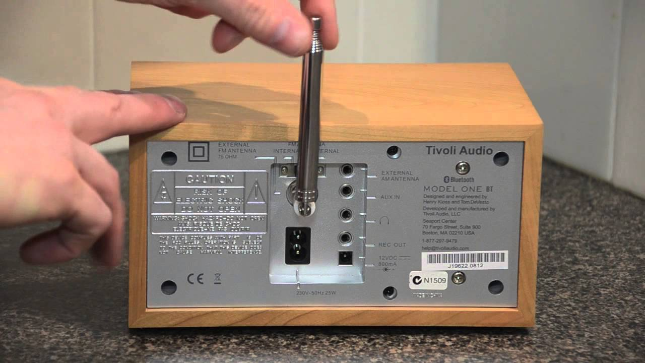 tivoli audio model 1 bluetooth review youtube. Black Bedroom Furniture Sets. Home Design Ideas