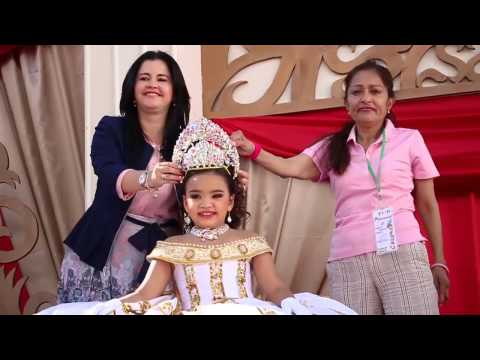Coronación Reina Infantíl Carnaval Guamúchil 2015