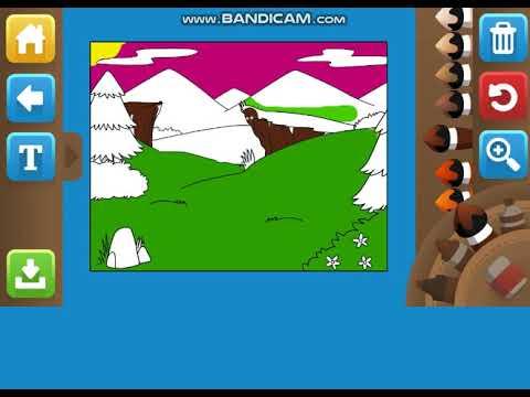 Resim Boyama Oyunu 10 Yas Alti Cocuk Oyunlari Youtube