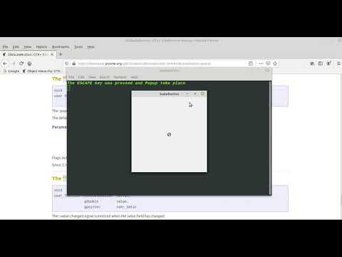 GTK3 CSS C Language Tutorial 104 ScaleButton&Signals Part 05 thumbnail
