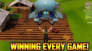 WINNING EVERY SINGLE GAME w/ LEGENDARY GEAR! (Fortnite Duos)