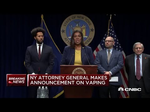 NY Attorney General Letitia James files lawsuit against Juul