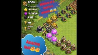 Millions of Loot in a Minutes in Clash of Clans!!