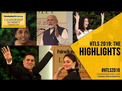 PM Modi, Sitharaman, Catherine Zeta-Jones, Akshay, Kareena: #HTLS2019 Highlights