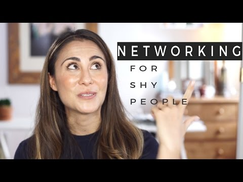 Business Networking Tips For Shy People