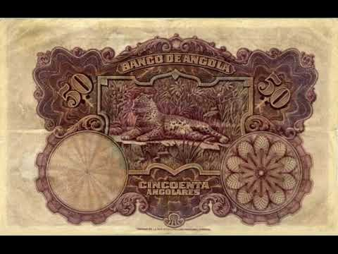 Paper money of Angola - Kwanza Angola - banknote - bonistika