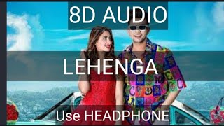 Lehnga (8D Audio) / artist -Jass manak.