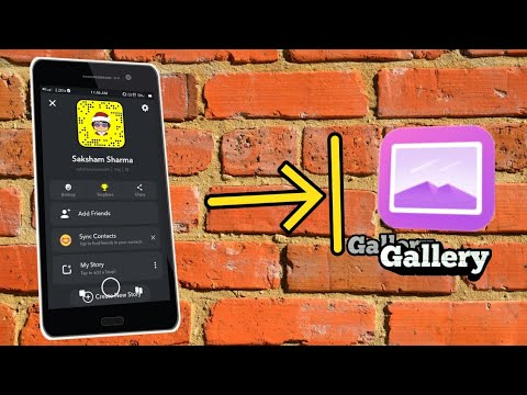 How To Save Snapchat Photos To Your Gallery