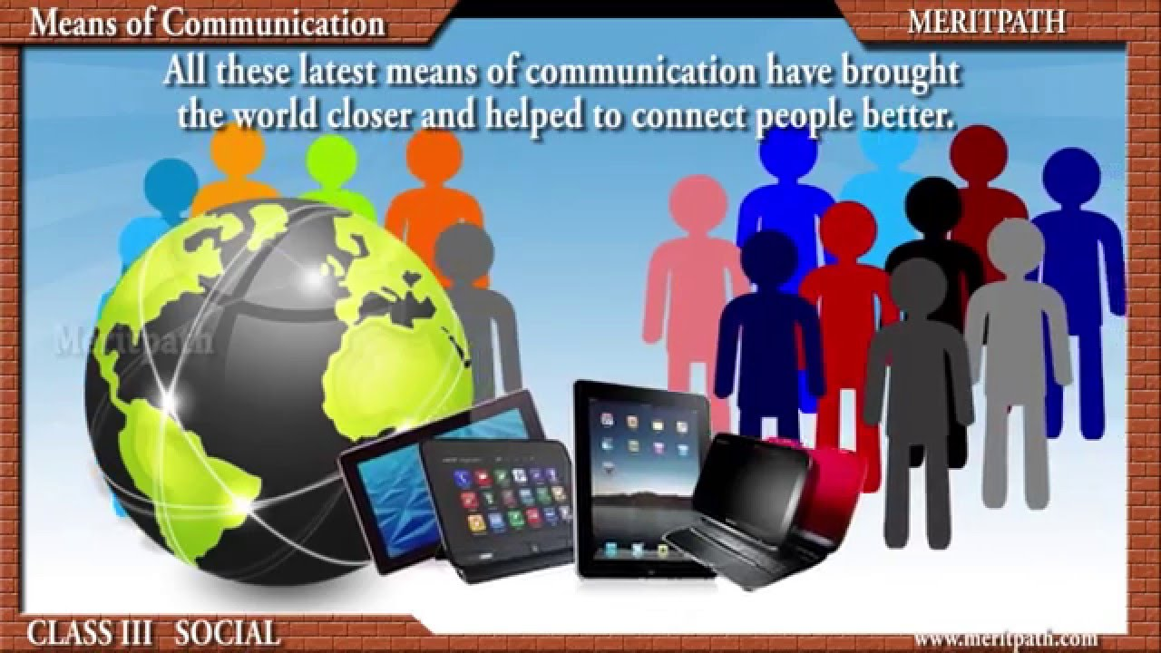 Essay on means of communication
