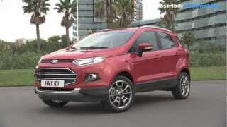 2014 NEW Ford Ecosport - Driving View