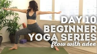 DAY 10/30 Beginner Yoga Series | Strong LEGS