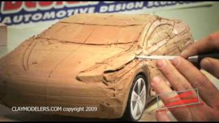 DESIGNSTUDIOPRO car design modeling kit by WWW.CLAYMODELERS.COM