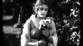 """GRETA GARBO,1924, canta ÂNGELA BARRA, """"Modinha""""."""
