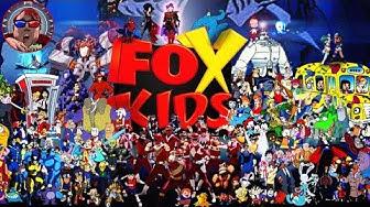 Every Fox Kids Show Ever!!
