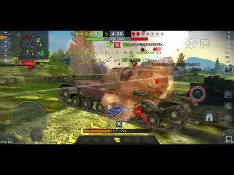 World of Tanks BLITZ 블리츠 8티 골탱 소련 IS-5(Object 730) 중전차