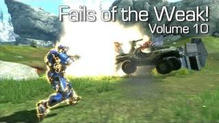 Fails of the Weak - Volume 10 - Halo 4 - (Funny Halo Bloopers and Screw Ups!)