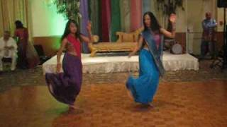 Bollywood wedding dance including Jai Ho