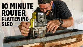 Sled - 10 Minute Router Flattening Sled
