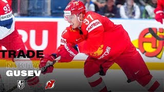 This Is Why New Jersey Devils Signed Nikita Gusev - 2019 (HD)