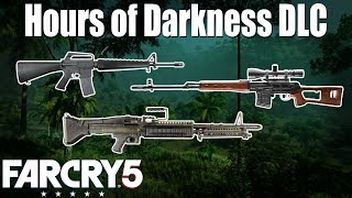 M16A1, M60 & SVD - added to Far Cry 5