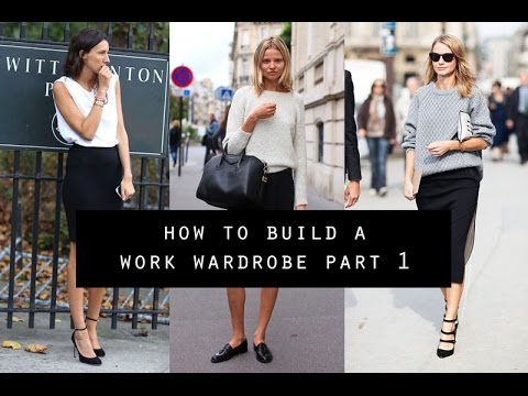 How to Build a Work Wardrobe from Scratch   Part 1 | Mademoiselle