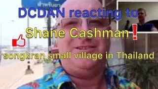 Shane Cashman songkran in a small village in Thailand 2 Reaction