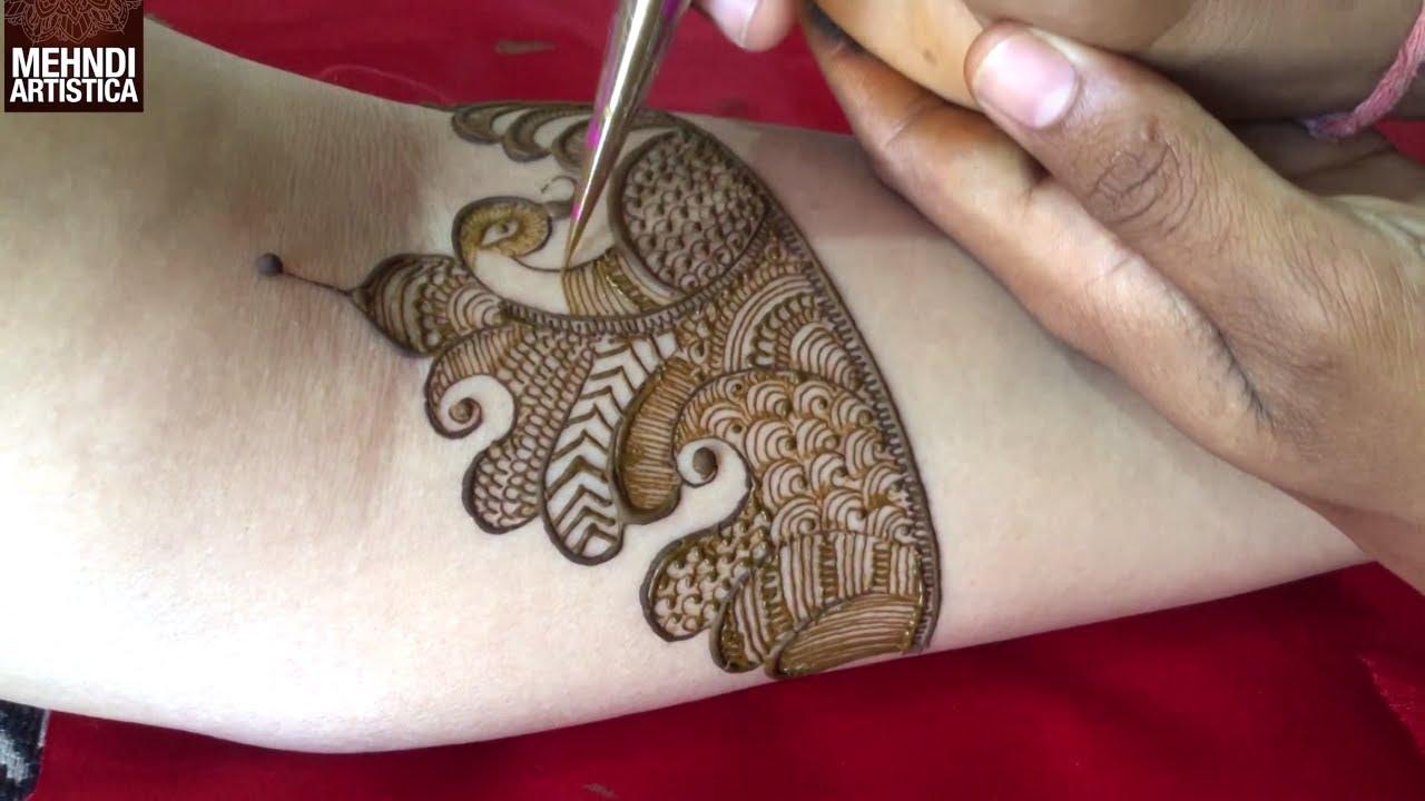 modern mehndi design simple back hand