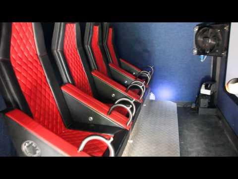 5D Mobile перечень опций и включение внутри кинотеатра