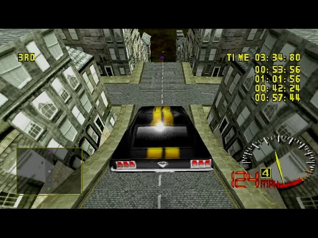 Test Drive 5 Gameplay Championship Cup (Playstation,PSX)