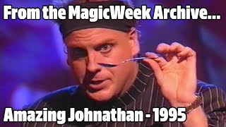 The Amazing Johnathan - Magician - Jack Dee's Christmas Show - December 1996 - MagicWeek.co.uk