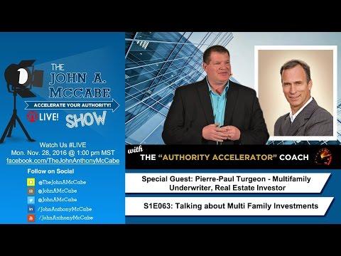 S1E063 Real Estate Investors: Multi-Family Investing w/ Pierre-Paul Turgeon