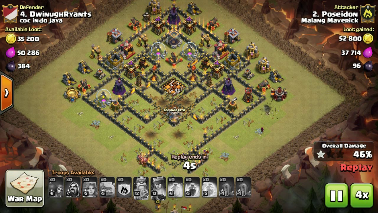 The Strongest War Base Base War Th 10 Terkuat November 2016