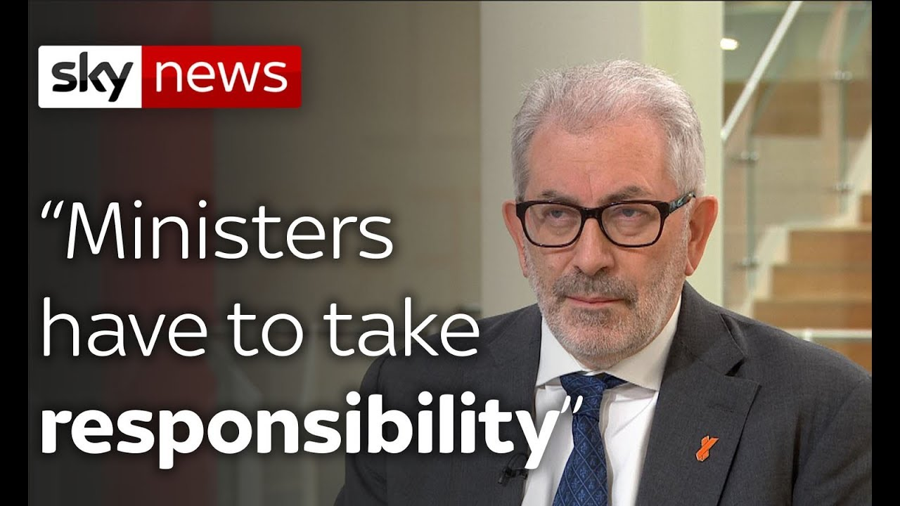 """Lord Kerslake: """"Ministers have to take responsibility"""""""