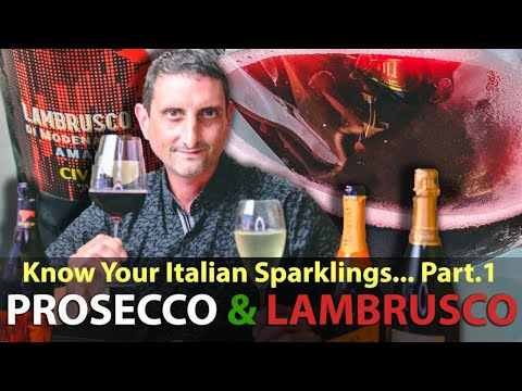 wine article Prosecco  Lambrusco estSelling Italian Sparkling Wines  The Fine Bubbles of Italy Part 1